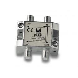 Derivador 2 salidas 16,5db 3 a 6 planta