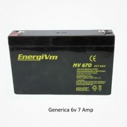 Bateria Plomo 6v 7,2 Amp