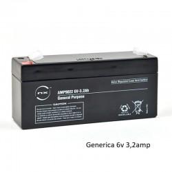 Bateria Plomo 6v 3,2amp