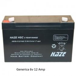 Bateria Plomo 6v 12 Amp