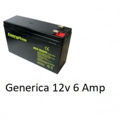 Bateria Plomo 12v 6Amp