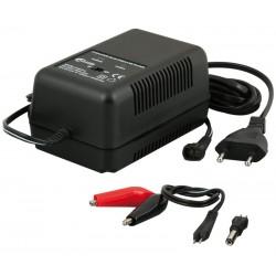 Cargador Bateria Plomo 6 y 12v 1,5Amp