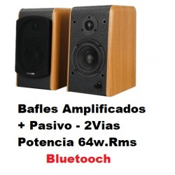 Par Bafles Amplificados Bluetooch